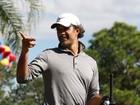 Marcos Pasquim participa de torneio de golfe