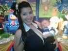 Priscila Pires posta foto com o filho em festa de aniversário infantil