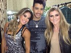 Mayra Cardi tieta Gusttavo Lima em camarim de show