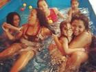 Gaby Amarantos posa em piscina de plástico: 'Dinheiro é consequência'