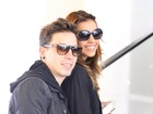 Mariana Rios e Di Ferrero viajam juntos