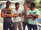 José Loreto brinca com Neymar em rede social: 'Faz um time aí'