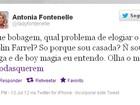 Antonia Fontenelle elogia Colin Farrell no Twitter: ' De boy magia eu entendo'