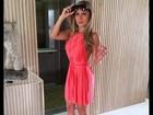 Ex-BBB Renatinha posta foto e chama atenção com 'cinturinha pilão'