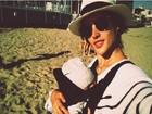 Alessandra Ambrósio divulga foto com o filho, Noah