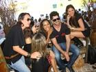 Mulherada 'pega' ex-BBB Rodrigão em evento no Mato Grosso