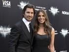 Christian Bale e Anne Hathaway vão à première do novo 'Batman'