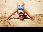 Luciano Huck posta foto divertida de férias com os filhos