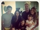 Rafa Justus comemora aniversário com pais e amigos em Miami