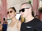 Jennifer Lopez comemora o aniversário com o namorado