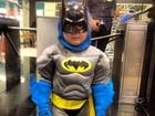 Otávio Mesquita posta foto do filho vestido de Batman