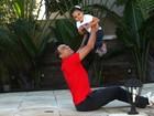 Pai da fofíssima Duda, de 2 anos, Denílson planeja aumentar a família