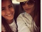 Antonia Morais posto foto com a irmã mais nova e a chama de 'bebê'
