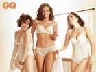 Bruna Linzmeyer, Ildi Silva e Emanuelle Araújo posam de lingerie