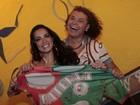 Carla Prata é apresentada como rainha de bateria da Grande Rio