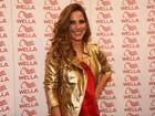 Wanessa estreia visual novo em evento em São Paulo