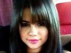 Selena Gomez mostra sua franjinha no Twitter: 'Adoro mudar meu cabelo'