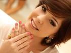 Bia Arantes, de 'Malhação', adere às 'border nails', mais um hit da Chanel