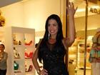 Com microvestido, Gracyanne Barbosa quase mostra a calcinha