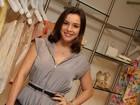 Regiane Alves marca presença em evento de moda