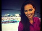 Priscila Machado fala sobre bronze de Cesar Cielo: 'Me orgulho demais'