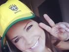 Em Londres, Samara Felippo assiste a jogo do marido: 'Nunca gritei tanto'