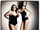 Preta Gil posa de lingerie discreta em campanha: 'Respeite suas curvas'