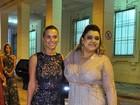 Carolina Dieckmann prestigia casamento de Marcelo Serrado, no Rio