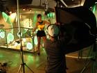Veja bastidores de ensaio de Babi Rossi em boate em Goiânia
