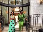 Oprah Winfrey posta foto ao lado de Rihanna depois de entrevista