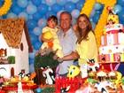 Rafaella Justus ganha festa de aniversário em parque de diversão
