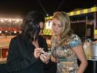 Scheila Carvalho e ex-BBB Fabiana se encontram em rodeio
