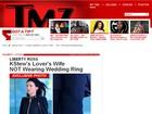 Site mostra mulher de diretor que saiu com Kristen Stewart sem aliança
