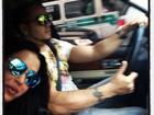 'Campeão do ruim de roda', diz Gracyanne sobre Belo ao volante
