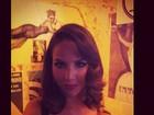 Decotada, Pérola Faria sensualiza em foto postada no Instagram