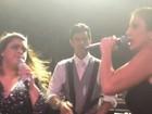 Veja Preta Gil e Ivete Sangalo cantando no casório de Serrado