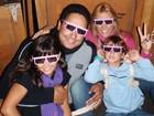 Xanddy abre o álbum de família e mostra momentos com os dois filhos e Carla Perez