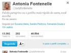 Fontenelle alfineta Regina Casé por causa de vídeo das olimpíadas