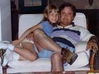 Carla Díaz e Miguel Rômulo mostram fotos da infância com os pais