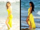 Nana Gouvêa se compara a Rihanna em foto, veja