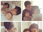 No Dia dos Pais, famosos publicam fotos e homenagens no Twitter