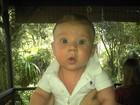 Marido da ex-BBB Priscila mostra foto do filho: 'Meu filhote lindo'