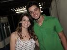Rodrigo Simas comemora estreia da nova temporada de 'Malhação'