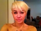 Miley Cirus divulga mais uma foto com cabelo novo