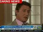 Sylvester Stallone fala sobre morte do filho na TV: 'Situação horrível'