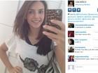 Carol Celico garante estar sem 'make' em foto, mas internautas desconfiam