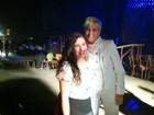 Xuxa posa com Lívian Aragão