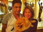 Separada, Zilu recebe apoio de Luciele Di Camargo em rede social