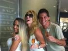 Val Marchiori posta foto com Mulher Melão em Miami: 'Luxo'