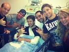 Bruno, do KLB, é atropelado em São Paulo, mas passa bem